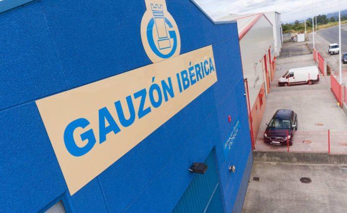 Gauzón Ibérica's Exterior Building